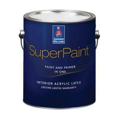 Краска Sherwin Williams | SUPER PAINT FLAT фото